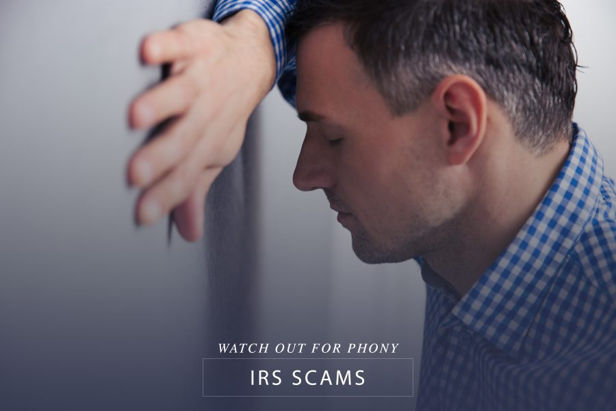 Watch out for phony IRS scams