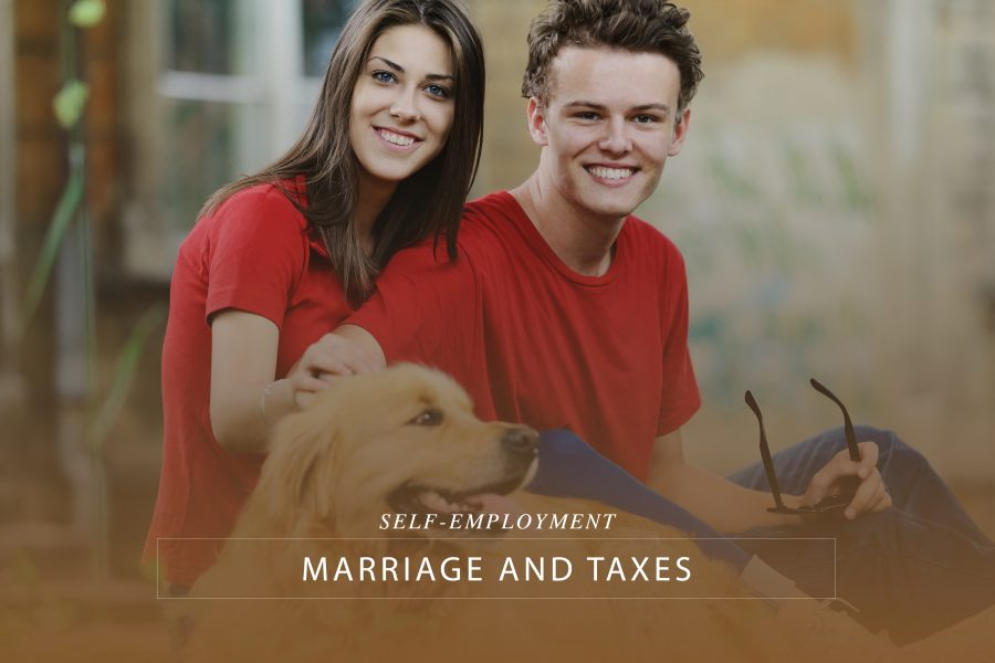 Self-employment, Marriage and Taxes