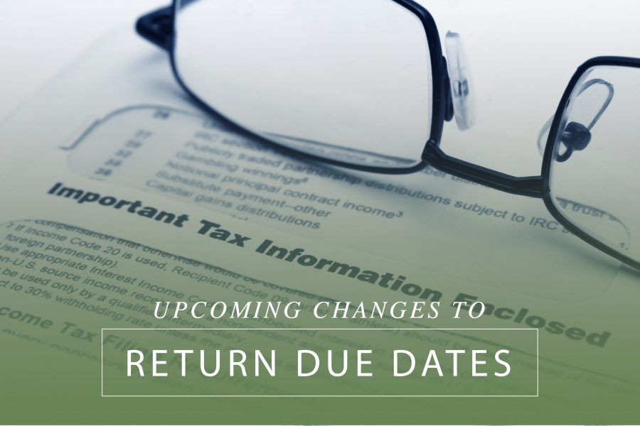 Upcoming Changes to Return Due Dates