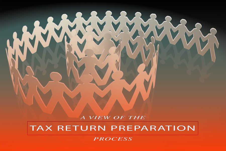 The tax return preparation process explained