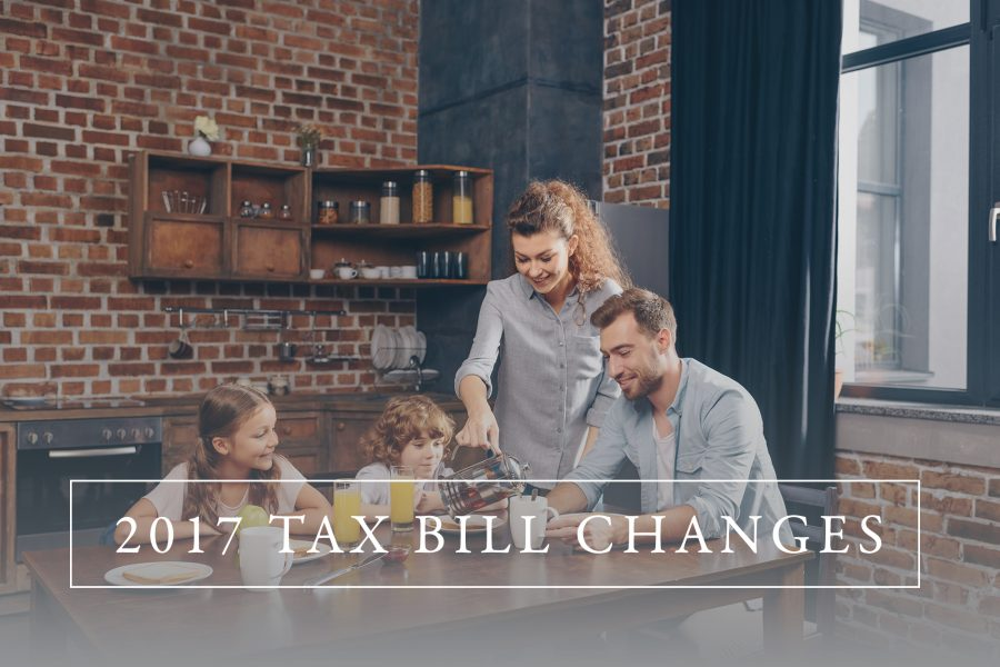 2017 Tax Bill Changes for Individuals