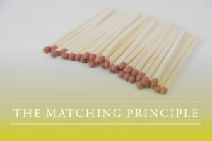 The Matching Principle